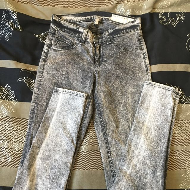 Rag and Bone Acid Wash Jeans, Size 25