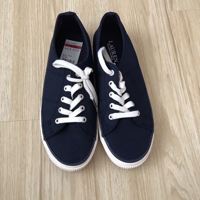 Ralph Lauren Sneakers - Navy Blue