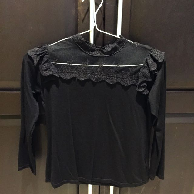 Ruffle top size S
