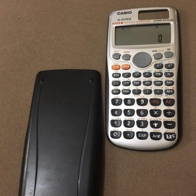 Scientific Programmable Calculator