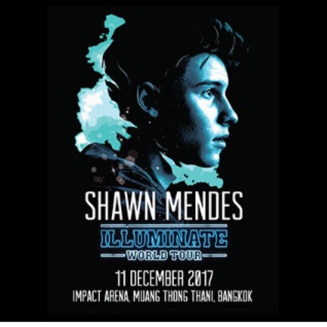 Shawn Mendes illuminates world tour live in Bangkok