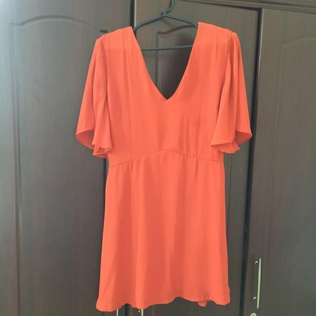 Something Borrowed Auburn Dress