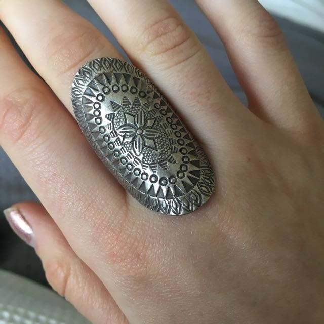 Sterling silver ring from Ishka worn ONCE!