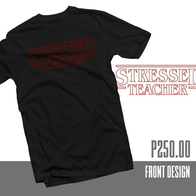 Stranger Things inspired shirt