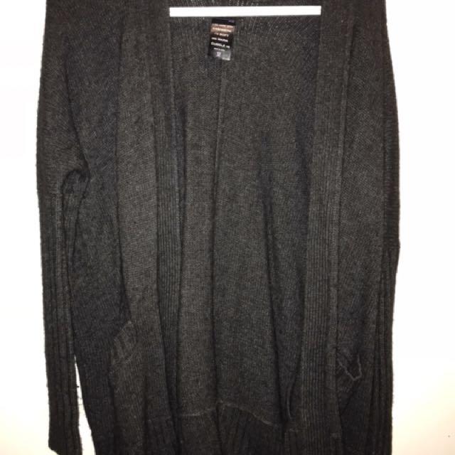 Talula Cashmere/Wool Blend Sweater - Grey, XS