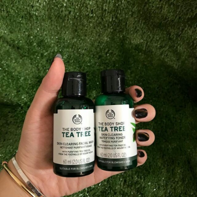 Tea tree by the body shop