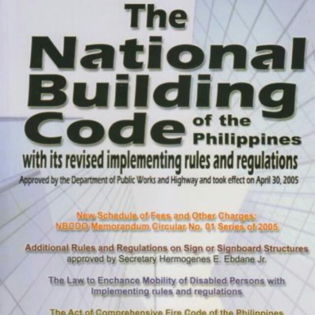The National Building Code Of The Philippines