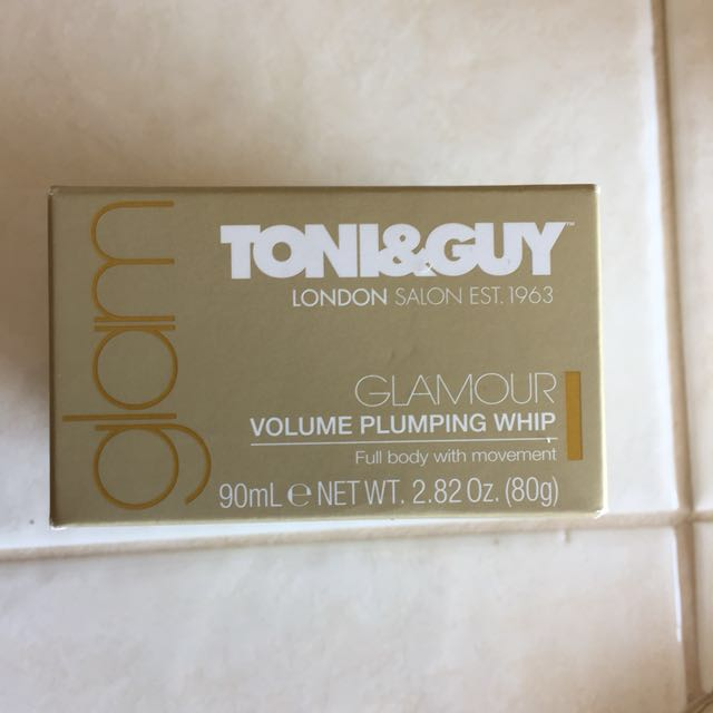 Toni and Guy volume pumping whip