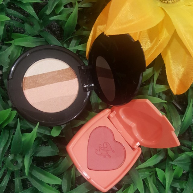 Too faced love flush blusher & luminous bronzer (limited edition size)