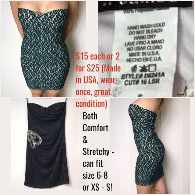 Tube Dresses - Unique & Made In Usa
