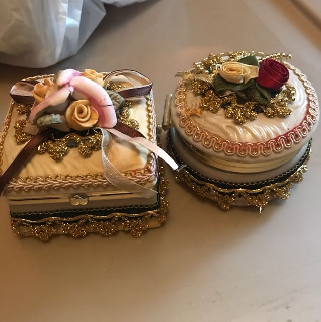 Two jewelry boxes