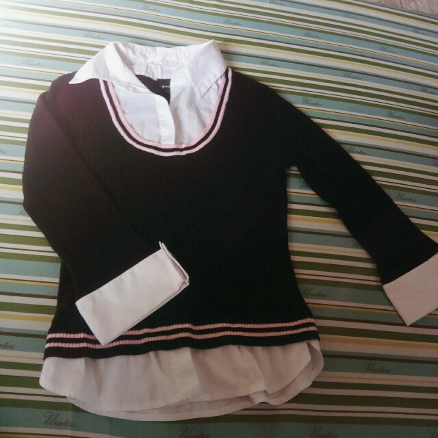 Uniform Style Knitted Sweater
