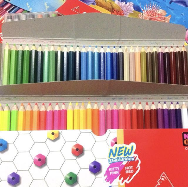 ⚡️USED⚡️COLLEEN COLORED PENCILS 775 60s (SINGLE-TIP)