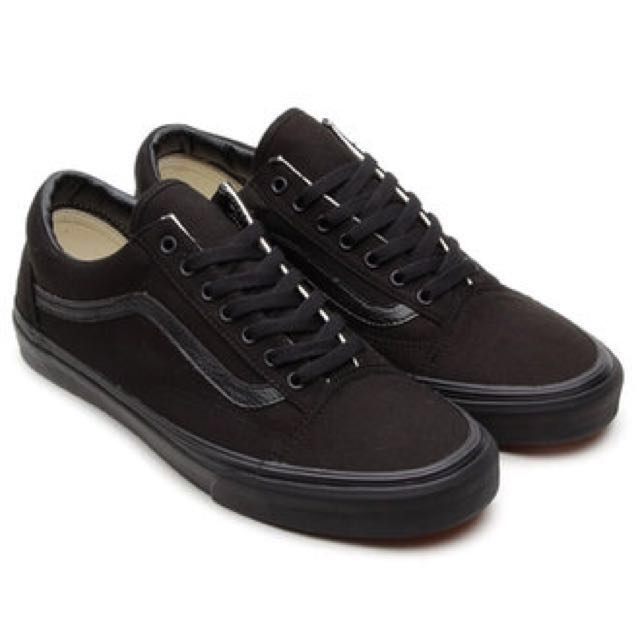 6f077a402fa1d1 VANS Old Skool Mono Black Shoes