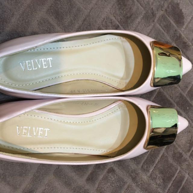 Velvet 平底鞋