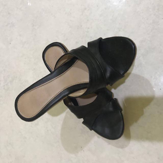 Wedges Conexion 5cm Black