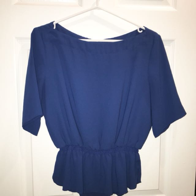 Wilfred Blouse - Blue, M