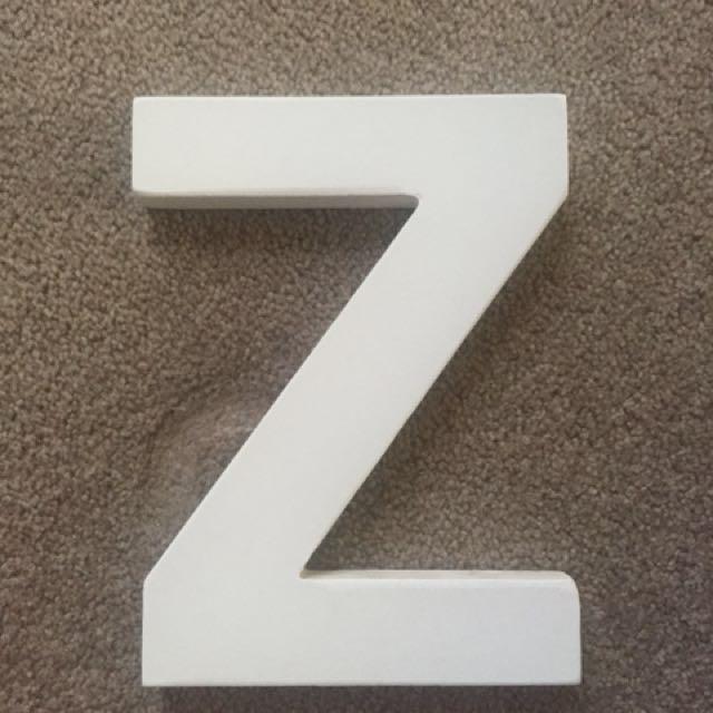 Wooden Z