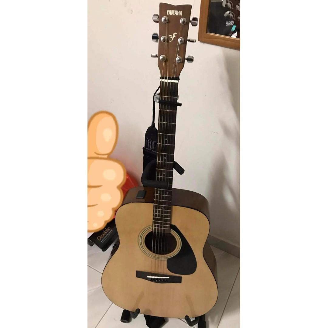 Electro Acoustic Guitar Yamaha Fx310a Music Media Music