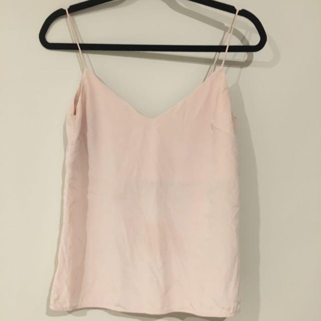 Zimmermann  Pink Silk Cami 0
