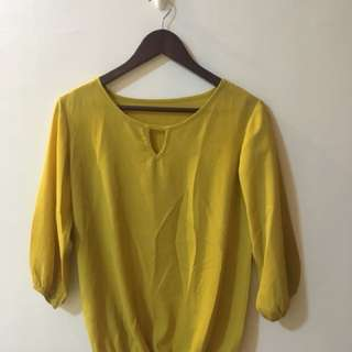 Yellow Corporate Top
