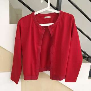 P&Co Cardigan (Red)