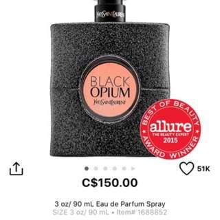 Basically New Black Opium- YSL