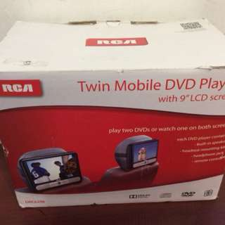 RCA Twin 9 Mobile DVD Player - Black (Drc6296) - As Sold At Target