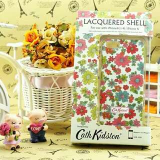 Cath kidston Mixed Colour Flowers Background Lacquered Shell Phone Case iPhone 6/7/7P/8/8P