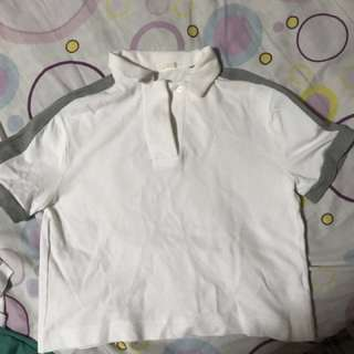 Crop polo shirt GU