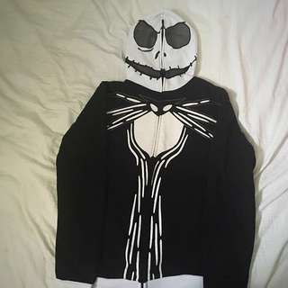 Jack skeletoning Sweater - Full Zip Hoodie