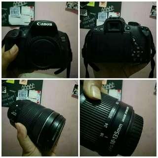 Canon DSLR 700D KIT II