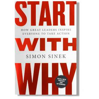 Brand New - Start With Why by Simon Sinek - Paperback