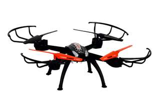 Lenoxx RC Flying Drone with Smartphone Live Streaming