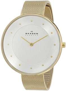 Skagen SKW2141 Ladies Gold Plated Stainles Steel Watch