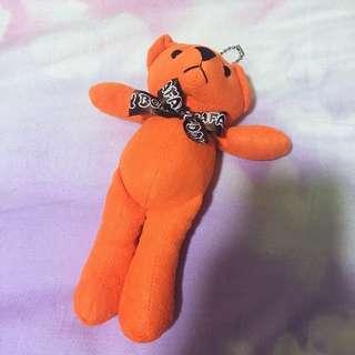 Teddy Bear Safari Key Chain