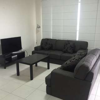 3 seater (sofa bed) and 2 seater couch
