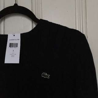 Lacoste BNWT | Cable-Knit Sweater