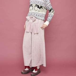 (🇯🇵日本代購)日系日牌Merry Jenny甜美可愛蝴蝶結馬毛粉紅鞋 全新 三件含運