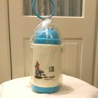 免運💝全新耐熱兒童水壺 附背帶,含吸管