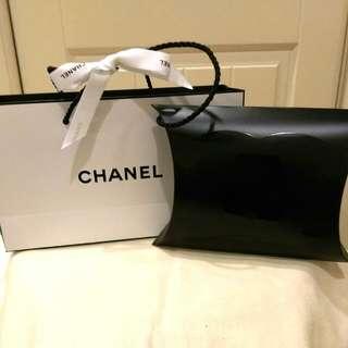 全新香奈兒CHANEL專櫃紙袋+包裝盒