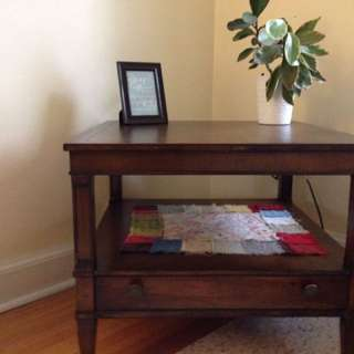 Vintage square coffee/corner table