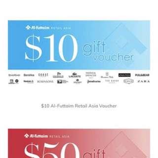 Robinsons Vouchers ( Al-Futtiam Gift Vouchers) $200