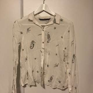 Zara shirt (xs) just removed the tag but never worn