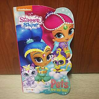 Shimmer and Shine Hard Cardboard Picture Book