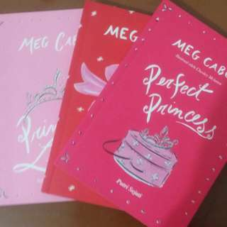 Novel Princess Series Meg Cabot