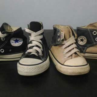 (Package) Converse Shoes for boys ages 2 to 3