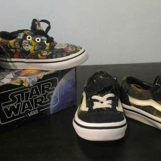 (Package) Vans Shoes for boys ages 2 to 3