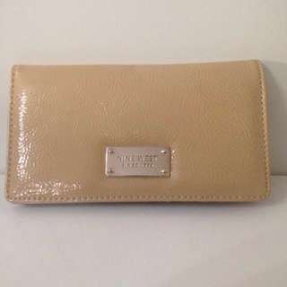 Nine West Slim Nude Wallet