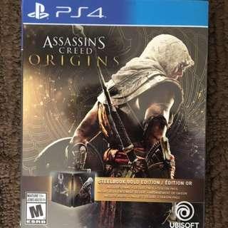 Assassins Creed Origins: Steelbook Edition.